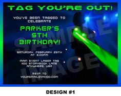 Free printable laser tag invitations template birthday pinterest laser tag clip art free laser tag invitation laser tag in vite party filmwisefo Images