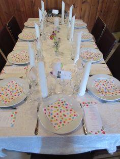 the polkadot table