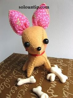 Modelo de juguete suave terrier de juguete del perro / Taller