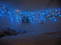 Blue lights love the idea