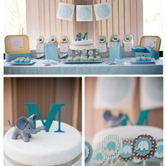 86 Amazing Blue Dessert Table Images Boy Shower Baby Boy Shower