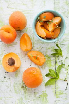 Perfect Peaches food photography