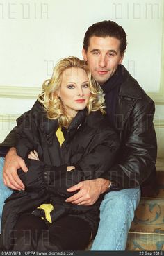 WILLIAM BALDWIN  American Actor  With his wife CHYNNA PHILLIPS  American Singer  COMPULSORY CREDIT: UPPA/Photoshot Photo  UIW 010917/A-10     23.01.1996 - stock photo