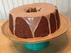 Cinnamon Zucchini Bundt Cake
