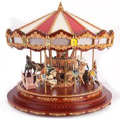 Mr. Christmas musical carousel for Christmas village
