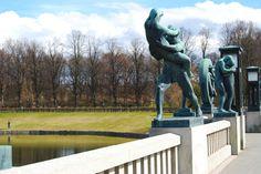 Oslo Vigelandsparken Statues