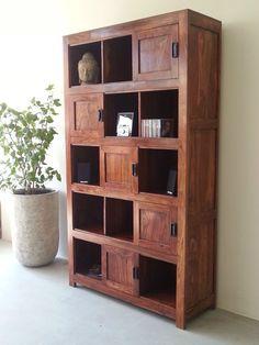 Regal Bücherregal Schrank Massiv Holz Palisander Möbel Einrichtung 210x110x40cm in Möbel & Wohnen, Möbel, Schränke & Wandschränke | eBay