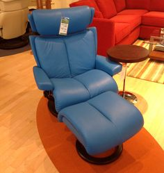Magic Large Stressless Chair and Otto at CircleFurniture.com