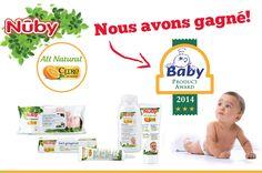 Nûby est gagnant du Product Award 2014!!!