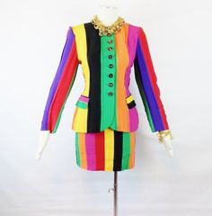 Designer Vintage MOSCHINO COUTURE RARE Runway Avant by Douvintage, $450.00