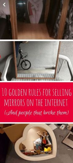 10 golden rules for selling mirrors on the internet (and people that broke them) #funnypics #memes #lol #facebook #lists #nsfw