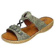 Laufsteg München Damen Sandalen-Pantolette Softsynthetik, Memoflex-Fußbett, PU-SohleFS151406 NEWSPA - http://on-line-kaufen.de/laufsteg-muenchen/laufsteg-muenchen-damen-sandalen-pantolette-pu