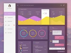 Day 02!  This is my second day I challenges my self , and today I made an admin dashboard, and this is a freebie.  Inspired by Cosmin Capitanu  download ► Here ►  and press