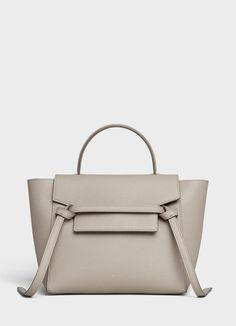 Micro Belt bag in grained calfskin   CELINE Celine Belt Bag, Latest  Handbags, Boutique 1560c40829