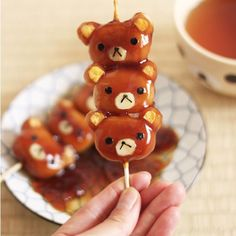 Cutest Japanese sweets! #cute #kids #sweets #candy #dessert #bear #parenting via Yukichen.com