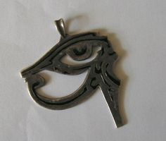 Eye of horus, a bit worn down though lol