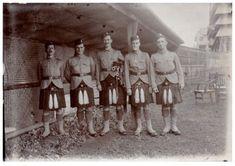 WW1-Photograph-Royal-Scots-Regiment-Scottish-Soldiers-Glengarry-Kilts-Bagpipes-7