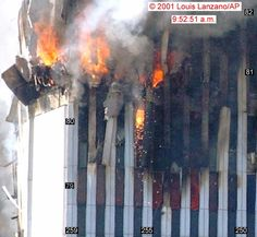 911 pictures | The molten metal that conspiracy theorists point to are a glowing flow ...