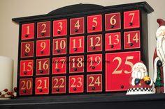 A list of Christmas Advent Activities and ideas via Amy Huntley (The Idea Room)
