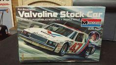 1/24 BUICK REGAL VALVOLINE STOCK CAR NASCAR RON BOUCHARD'S FOUND STORAGE #REVELL