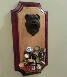 Guest author Dan Burke walks us through how to make an amazingly cool bottle opener, with magnetic bottle cap catch. Cool Bottle Openers, Diy Bottle Opener, Magnetic Bottle Opener, Beer Bottle Opener, Cool Woodworking Projects, Diy Wood Projects, Diy Woodworking, Wood Crafts, Beer Crafts
