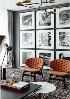 2019 has been a revelation year, full of novelties and new interior design ideas – the trendy console tables you're about to see share this line of thought with fresh elements and original features. New Interior Design, Best Interior, Home Interior, Home Design, Design Ideas, Interior Designing, Blog Design, Living Room Designs, Living Room Decor