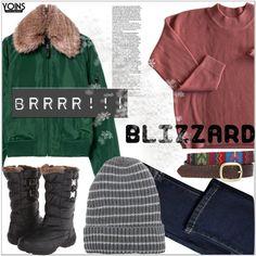Brrrr! Winter Blizzard w/ yoins