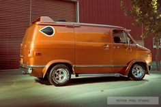Shorty custom Chevy Van