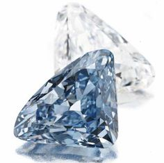 "10.95ct fancy vivid blue diamond, The ""BVLGARI Blue"""