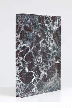 Tauba Auerbach's marble book
