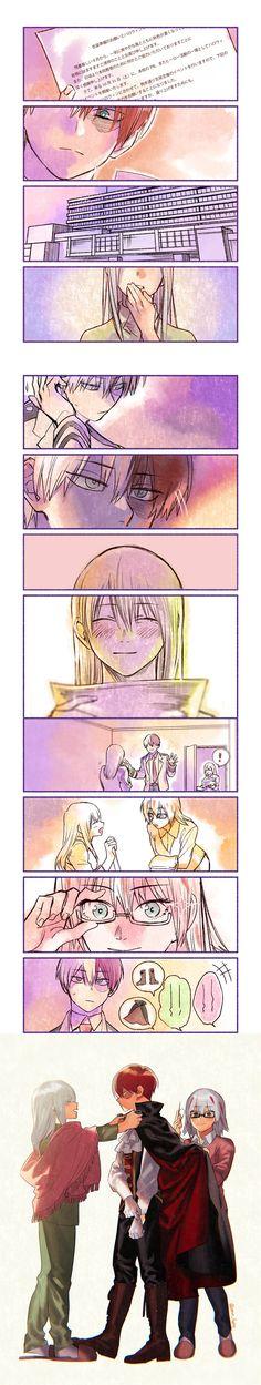 Characters: Todoroki Shouto, Shoto's Mother, Fuyumi Todoroki