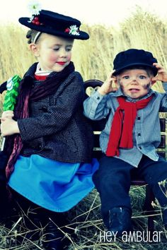 Cute Mary Poppins Halloween Costumes