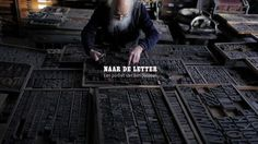 Naar de Letter | Een portret van Ben Joosten by Vandervan. To the Letter | A portrait of Ben Joosten