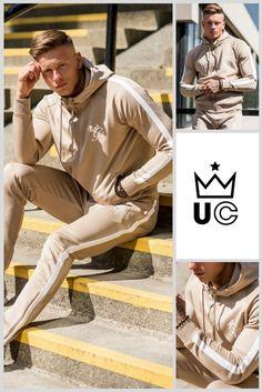 Gym King Tapered Tracksuit Top in Nomad   Only £44.99 #urbancelebrity We  ship to