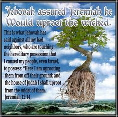 Jeremiah receives comfort from Jehovah