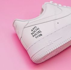 Adding the small ASSC logo onto the original Air Force 1. Super clean look, but super limited.