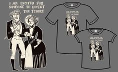 excited victorians shirt by kate beaton $18.50