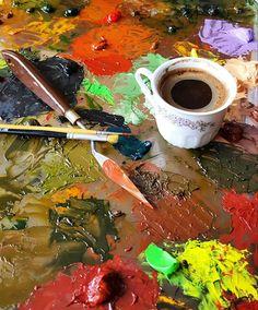 And break time.. Turkish Coffee  __ Mola #SelmanurAktaşArt #artwork #artist #artlovers #artlife #artoftheday #photooftheday  #resim #yağlıboya #contemporary #ig_art #myart #sanat #ressam #instaart #painting #drawing #oilpainting #canvas #contemporaryart #turkeyartist #artfollowers #iyikisanatvar #sanattakibi #Turkishfollowers #painter #instaartist #artofdrawing #abstractart #illustration / And break time.. Turkish Coffee  __ Mola #SelmanurAktaşArt https://www.instagram.com/selmanuraktas/