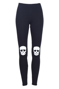 I would wear these for skating, since I love skulls.  Only my pads would cover them :( #conundrum