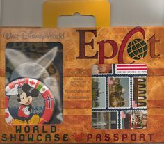 You can buy these passports at Epcot and then have them stamped in each country.
