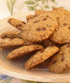 Healthy Bars, Healthy Sweets, Healthy Recipes, Greek Desserts, Almond Cookies, Cookie Recipes, Cupcake Cakes, Biscuits, Sweet Tooth