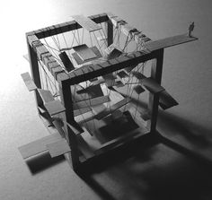 space labyrinth model by Erika Gábor Arch Model, Project Ideas, Projects, Erika, My Design, Models, Space, Log Projects, Templates