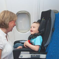Now Children with Disabilities Get Their Own Airline TravelChair http://blog.amsvans.com/now-children-with-disabilities-get-their-own-airline-travelchair/