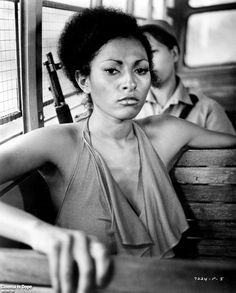 Pam Grier (aka Foxy Brown) was one of the queens of cinema in the 1970s, rightfully earning her title as the Queen of Blaxploitation. Description from pinterest.com. I searched for this on bing.com/images