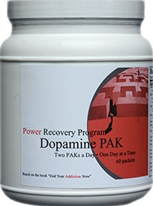 If energy loss or tiredness is a symptom, if you tend to be a thrill-seeker, if you smoke cigarettes to feel energized, or if you prefer cocaine or amphetamine drugs to feel good, then the Dopamine PAK may be right for you.