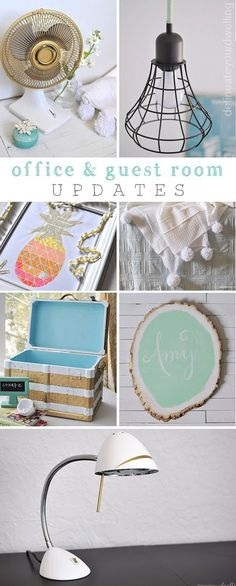Guest Room + Office Makeover Reveal projects