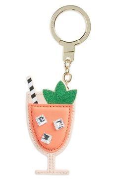 kate spade new york 'passion fruit drink' bag charm available at #Nordstrom