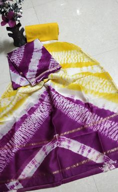 New Hand block chanderi silk dress materials Khadi Kurta, Chanderi Suits, Salwar Kameez, Churidar Suits, Patiala, Anarkali Suits, Punjabi Suits, Bandhani Dress, Silk Dress