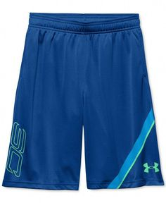 Icer Brands Steph Curry Basketball Shorts Blue Kids Youth Sizes Premium Quality