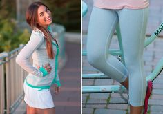 Albion Fit stripes Albion Fit Review and Giveaway